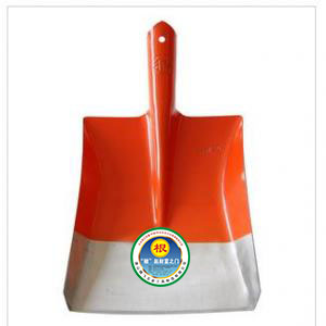Root brand orange square spade