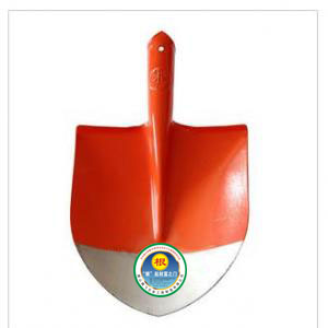 Card No. two orange root pointed spade