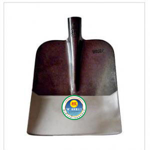 Root rounding agricultural spade