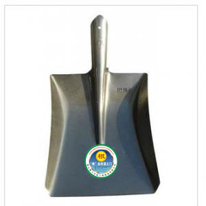 Silver card root square spade